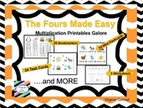 Multiplication:  Focus on Fours