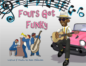 Fours Multiplication Facts - Music Video - Math Song