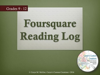 Foursquare Reading Log