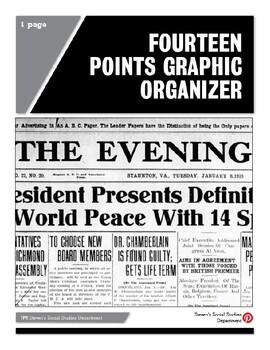 Fourteen Points Graphic Organizer