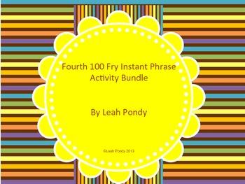 Fourth 100 Fry Phrase Activity