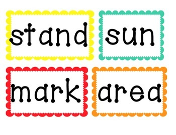 Fourth 100 High Frequency Words- Word Wall Cards