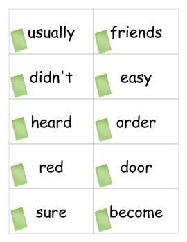 Fourth 100 Sight Words