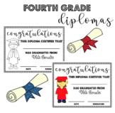 Fourth (4th) Grade Graduation Diplomas