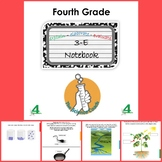 Fourth (4th) Grade Science Notebook ENGLISH