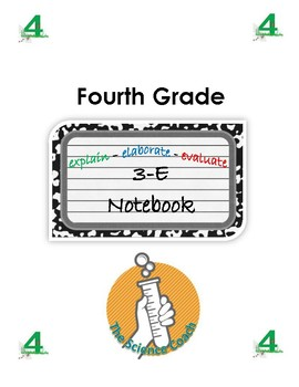 Fourth (4th) Grade Science Notebook English AND Spanish in One