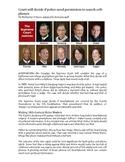Fourth Amendment Current Events-Common Core