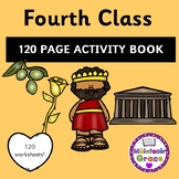 Fourth Class 120 Page Activity Book - Distance Learning
