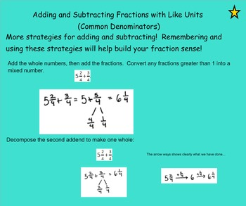 Fourth-->Fifth Grade Fractions Module Connections based on EngageNY Gr4 Module 5