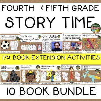 Fourth & Fifth Grade Story Time 10 Book Bundle