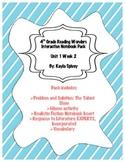 Fourth Grade (4th Grade) Reading Wonders Unit 1 Week 2 Interactive Notebook