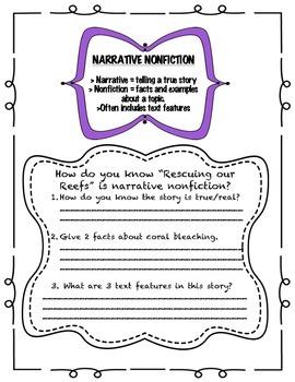 Fourth Grade (4th Grade) Reading Wonders Unit 2 Week 3 Interactive Notebook