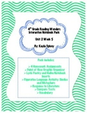Fourth Grade (4th Grade) Reading Wonders Unit 2 Week 5 Interactive Notebook