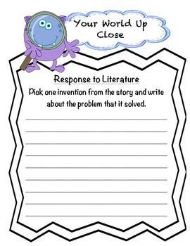 Fourth Grade (4th Grade) Reading Wonders Unit 5 Week 4 Interactive Notebook