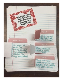 Fourth Grade (4th Grade) Reading Wonders Unit 6 Week 3 Interactive Notebook