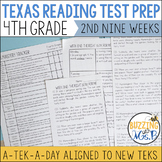 Fourth Grade A TEK-a-Day Reading Test Prep & Review, 2nd N