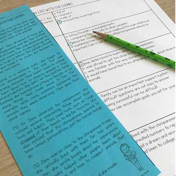 Fourth Grade A TEK-a-Day Reading Test Prep & Review, 3rd Nine Weeks