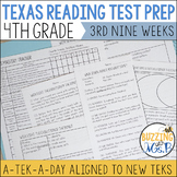 Fourth Grade A TEK-a-Day Reading Test Prep & Review, 3rd N