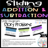 Fourth Grade Addition and Subtraction Slides - Strip Diagram Story Problems