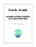 Fourth Grade Alabama Extended Standards Data Sheets for Math & Reading
