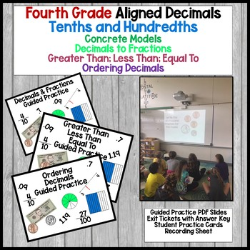 Tenths And Hundredths Powerpoint Worksheets Teaching