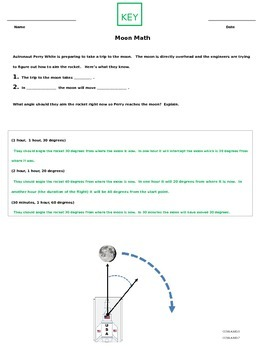 Fourth Grade Angles (Moon Math)