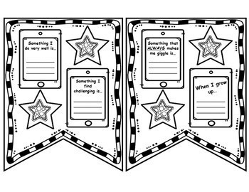 Fourth Grade Back to School Pennant Banner