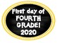 Fourth Grade Back to School Photo Booth 2017