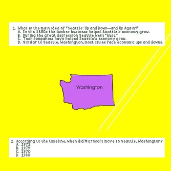 Fourth Grade Benchmark Advance Unit 9 Week 1 Comprehension Questions