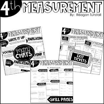 Fourth Grade Bundle Measurement