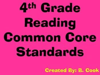 Fourth Grade CCS (for teacher use)