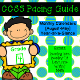 Fourth Grade CCSS Pacing Guide