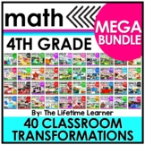 Fourth Grade Classroom Transformations   MEGA BUNDLE