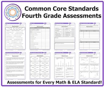 Fourth Grade Common Core Assessment Workbook