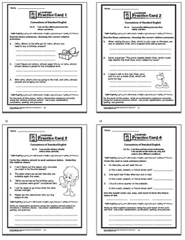 4th Grade LANGUAGE Bundle (17 Lesson Grammar Unit, Daily Practice, Games, MORE!)