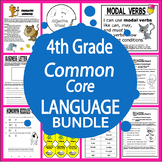 4th Grade LANGUAGE Bundle (Daily Language Practice + 4th Grade Grammar Unit)