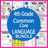 4th Grade Language – Daily Grammar Practice + Common Core ELA Bundle