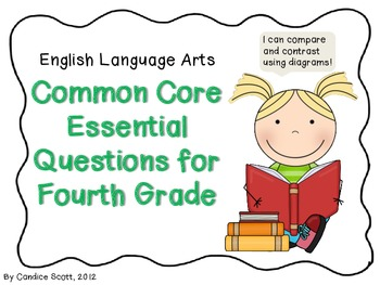 Fourth Grade Common Core Language Essential Questions