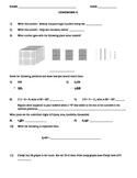 4th Grade Common Core Daily Math Homework #1