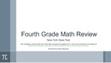Fourth Grade Common Core Math Test Review with NY State Released Questions 2014