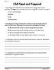 Common Core/PARFourth Grade Common Core:  Read and Respond