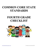 Fourth Grade Common Core Standards Checklist