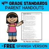 Fourth Grade Common Core Standards Parent Handouts