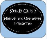 Fourth Grade Common Core Study Guide: 4.NBT. 1 -6