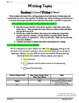 Common Core/PARCC Writing Prompt:  Antarctica Journal