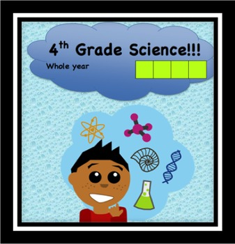 Fourth Grade Common Core and Next Generation Science NGSS Lessons: Full Year