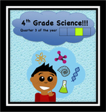Fourth Grade Common Core and Next Generation Science NGSS Lessons: Quarter 3