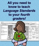Language Standards  at a Glance Fourth Grade