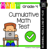 Fourth Grade Common Core Beginning, Middle or End of Year