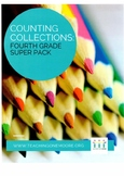 Fourth Grade Counting Collections Super Pack